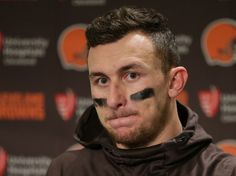 Johnny Manziel explains how his infamous Vegas trip paved 'self-sabotage road' Football Workouts, Nfl Football Games, Nfl Steelers, Cleveland Browns Quarterback, Robert Griffin Iii, Johnny Manziel, Sports Channel, Colin Kaepernick, Letting Go Of Him