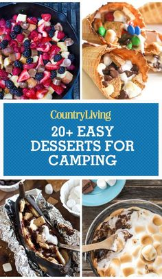 Save these campfire dessert recipes for later by pinning this image, and follow Country Living on Pinterest for more.