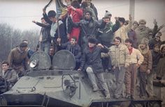 The Romanian Revolution, 1989 Romanian Revolution, Military Photos, Communism, Military Vehicles, Gallery, Painting, Cold War, 1980s, Flag