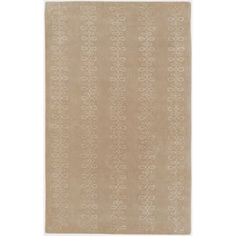 Art of Knot Fairfield Wool Area Rug, Brown