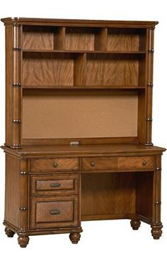 Havertys   Westbury Desk With Hutch | Aarons Office | Pinterest | Desks,  Office Furniture And Men Cave