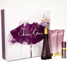 Selena Gomez Perfume Set ♥OML i would die for it ❤️