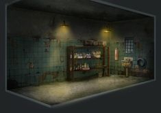 Project Discord - Indie Video Game ~ Janitor Closet 2 Discord, Video Game, Concept Art, Indie, Room, Projects, Closet, Design, Log Projects