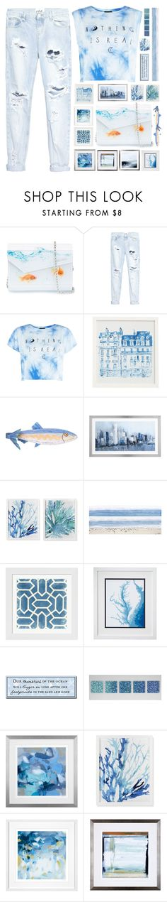"""""""Sound Of The Sea-"""" by luluhmrr ❤ liked on Polyvore featuring Jimmy Choo, OneTeaspoon, Pottery Barn, Young's, Williams-Sonoma, Parvez Taj, Evive Designs, My Word!, Robert Wiener and Leftbank Art"""