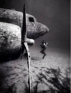 <b>Underwater</b> <b>abandoned</b> DC3 airplane | Beautifully <b>abandoned</b> | Pinterest