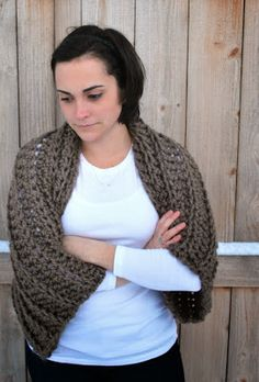 A Crafty House   Knit and Crochet Patterns and Accessories: Crochet Sweater Shrug Pattern
