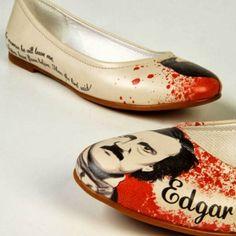 EDgar Allen Poe Shoes