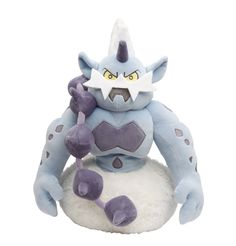 Pokemon Center Thundurus Voltolos Fulguris Plush Doll.shopper bag With gift #PokemonCenter