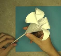If lilies are your favorite flowers, make the Classic Origami Iris Lily. This origami tutorial is a beautiful paper craft idea.
