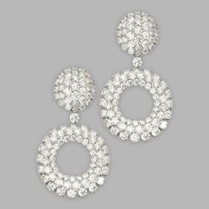 feb0a4dfbedb3 792 Best Diamond earrings images in 2019 | Diamond earrings, Diamond ...
