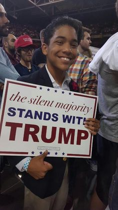 cafe silent majority stands which trump fans