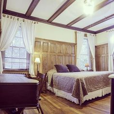 One of our beautiful bedrooms at Adam's Inn!