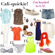 Cali Packing List-jillgg's good life (for less) | a style blog: Search results for packing