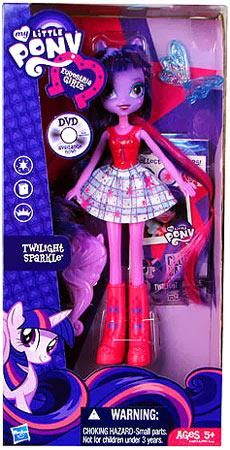 My Little Pony Equestria Girls 9 Inch Doll Twilight Sparkle