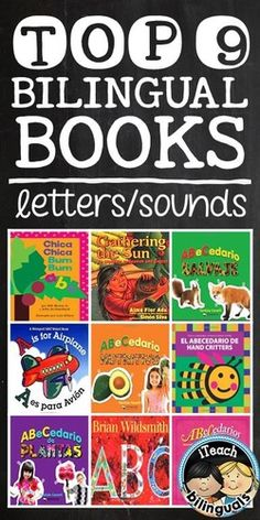 Top 9 Bilingual Books for teaching alphabet letters & sounds (recommendations for teachers by teachers on iTeach Bilinguals)