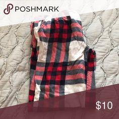 Aerie patterned sleep pants Red and navy patterned Intimates & Sleepwear Pajamas