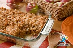 Apple Crumb Squares are packed with whole grains and nuts to balance the touch of sugar that makes this dish a worthy dessert.