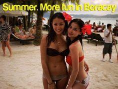 Pinay celebrities Solenn Heussaff and Angel Locsin at Boracay beach. Solenn Heusaff, Philippines Tourism, Anne Curtis, Campaign Slogans, Filipina Girls, Filipina Beauty, Filipiniana, Asian Hotties, Beauty Shots