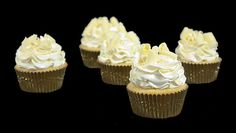 White Chocolate Cupcakes from Grace's Sweet Life