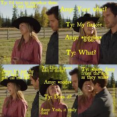 """Guess what I have for you guys?! A #tamy season 6 episode 11 """"Blowing Smoke"""" #Heartland #ILoveHeartland #AmyFleming #AmberMarshall #TyBorden #GrahaWardle I hope you like it QOTD: Favourite singer or band? AOTD: Either Lucy Hale ( @lucyhale ) or..."""
