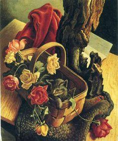 THOMAS HART BENTON Pussycat and R (1939)