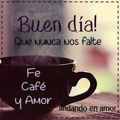 Buenos días !! Un café?
