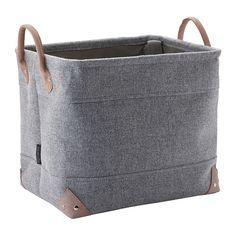 Buy Aquanova Lubin Storage Basket   Silver Gray   Medium   Amara