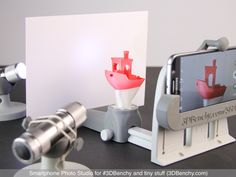 Design of the Week: Smartphone Photo Studio #3DPrinting Maybe something for 3D Printer Chat?