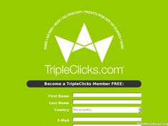 """http://www.empowerbutton.com/pxqgn  Become a TripleClicks Member FREE: Our """"Superstore"""" TripleClicks SFI-powered TripleClicks is one of the fastest growing and most popular e-commerce sites on the Web today. With over 90,000 products from around the world, 24-hour auctions, great online games, and more, TripleClicks has something for everyone--and that makes online selling both lucrative and fun! And with our exclusive profit-sharing program, you can share in the profits of EVERY sale at…"""