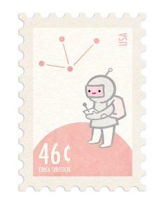 Stamp Design by Erica Sirotich