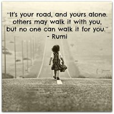 That's why we all walk proudly....