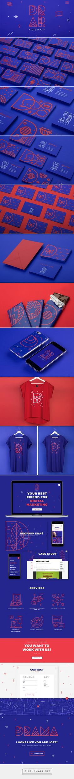 DRAP.agency Branding on Behance... - a grouped images picture - Pin Them All