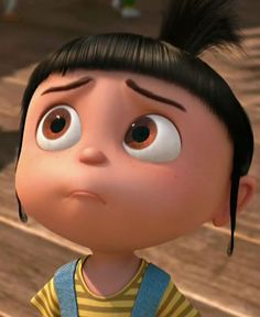 Despicable Me / Cattivissimo Me- Agnes ru Despicable Me Memes, Agnes Despicable Me, Cute Disney Wallpaper, Cute Cartoon Wallpapers, Romantic Gif, Your Best Friend, Cartoons, Chocolate Quotes, Angels