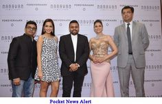 Narayan Jewellers celebrate their anniversary showcasing its exclusively designed Forevermark Oscar Red Carpet Bridesmaid Dresses, Wedding Dresses, Red Carpet, Anniversary, Jewels, Jewellery, Celebrities, Design, Fashion