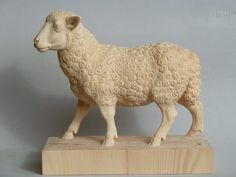 This sheep carving is by one of the world's best wood carvers - Giuseppe Rumerio of Italy.  You can follow him at Giuseppe Rumerio FB.