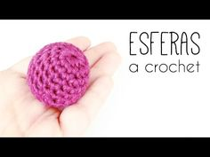 Crochet Ball, Love Crochet, Crochet Flowers, Easy Crochet, Single Crochet, Crochet Hooks, Knit Crochet, Crochet Stitches, Crochet Patterns