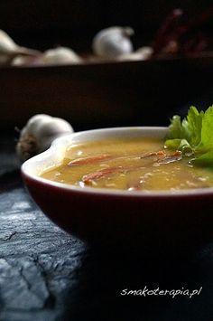 Zupa krem porowo-selerowa