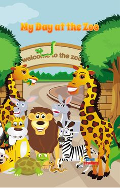New Arrivals! Our new #personalised #books will be here soon! Make your #kids #happy with the new #colourful images and #funny stories!  My Day at the #Zoo