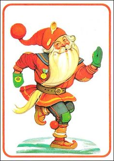 Helge Artelius Christmas Photos, Vintage Christmas, Christmas Cards, Xmas, Scandinavian Holidays, Elsa Beskow, Mythological Creatures, Father Christmas, Winter Solstice