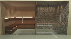 Nordic Steam and Sauna Gallery Master Bathroom Shower, Steam Sauna, Steam Room, Steam Showers, Restaurant, Gallery, Shower Ideas, Bathrooms, House