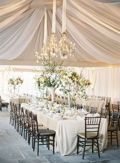 Tracy and Andrew Charlottesville, Virginia Wedding - Jose Villa Fine Art Weddings Tent Wedding, Mod Wedding, Wedding Table, Wedding Bells, Dream Wedding, Wedding Dinner, Wedding Reception, Wedding Flowers, Wedding Dresses