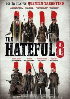 """The hateful 8"" Western movie poster"