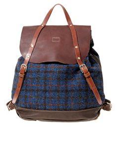 Ally Capellino Alistair Harris Tweed Backpack