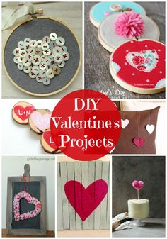 20 DIY Valentine's Projects