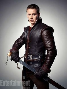 """Josh Dallas as Prince Charming, David Nolan, and James in """"Once Upon A Time"""""""