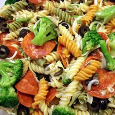 Rainbow Pasta Salad I Allrecipes.com