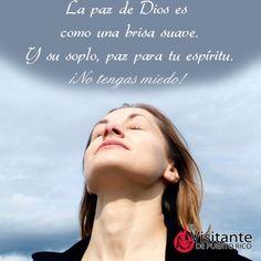 Paz de Dios.  #Milagros #Confianza #Jesús #Dios #Fe #Católico #Iglesia #Prójimo #MensajedelDia
