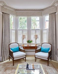 Thinking about Shutters? One of the most popular window treatments around continues to be shutters. Meet the local business The Traditional Shutter Company London, a quality shutter provider with timeless style • #bespoke #window #treatments #handcrafted #wood #shutters #craftmanship #design #manufacture #delivery installation #quality #windowtreatments #homedecor #interiordesign #house #decor #home #renovation #interiordecorating #timeless #style #ttshutterco • Window Treatments Living Room, Living Room Windows, Home Living Room, Interior Shutters, Interior Windows, Wood Shutters, Traditional Shutters, Georgian Interiors, Family Room Decorating