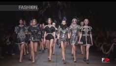 """DOLCE & GABBANA"" Full Show Milano Autumn Winter 2014 2015 by Fashion Ch..."