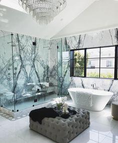 Master Marble Shower @jamesbondst #InteriorDesign #DecorativeHardware #HomeDecor #DIY #Remodel #mastershower #Architecture #showergoals #LuxuryHomes #HomeIdeas #HomeStyling #HomeRenovation #HomeDesign #HomeInspiration #DreamHome #ArchiLovers #BathroomDesign #BathroomRemodel #NewShower #ModernHome #NewConstruction